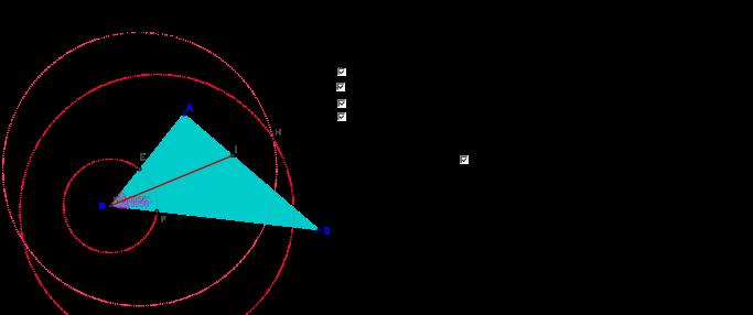 Melukis garis bagi segitiga